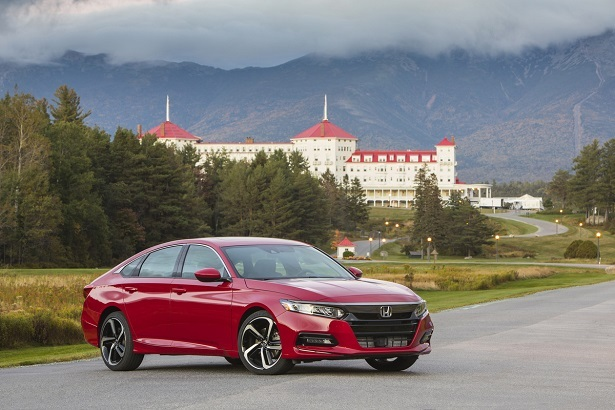Best Selling Passenger Cars 2020 Honda Accord