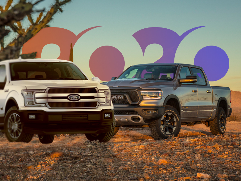 The Ford F-Series and the Ram Pickup landed in the top 3.