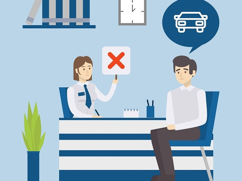 An auto loan rejection doesn't have to kill your dream of buying a car.