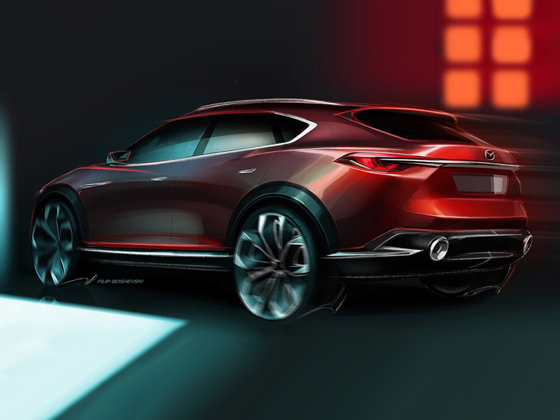 The next CX-5 will look even better than the current one. (image: Automachi)
