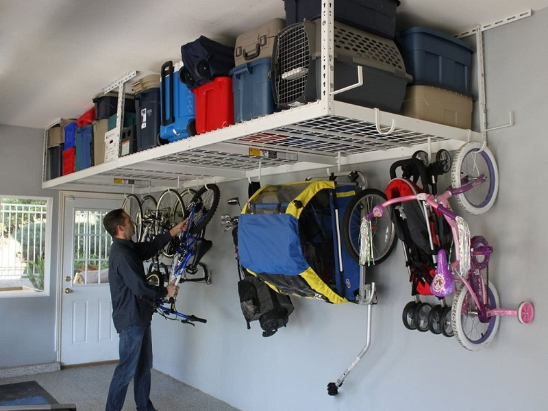 With a little help from a garage storage system, you'll finally make room for your car.