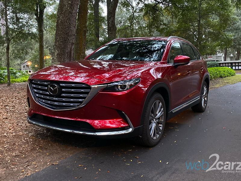 We had no idea the CX-9 would be so good for long-distance driving.