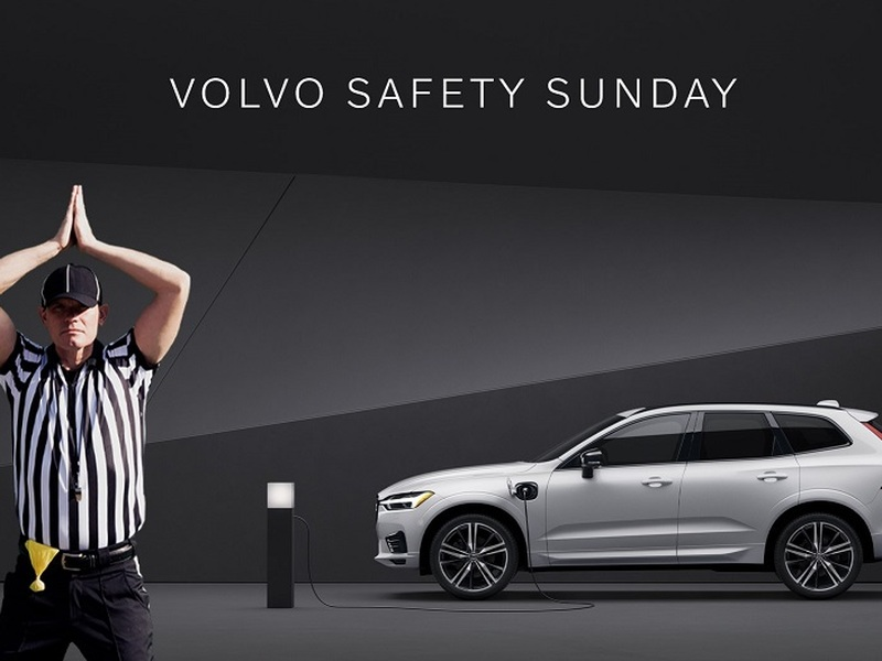 No favorite team this year? Enter Volvo's sweepstakes and root for a safety.