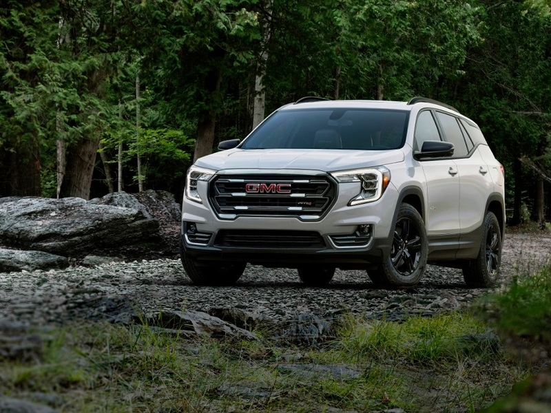 gmc refreshes the 2022 terrain, adds at4 trim | web2carz