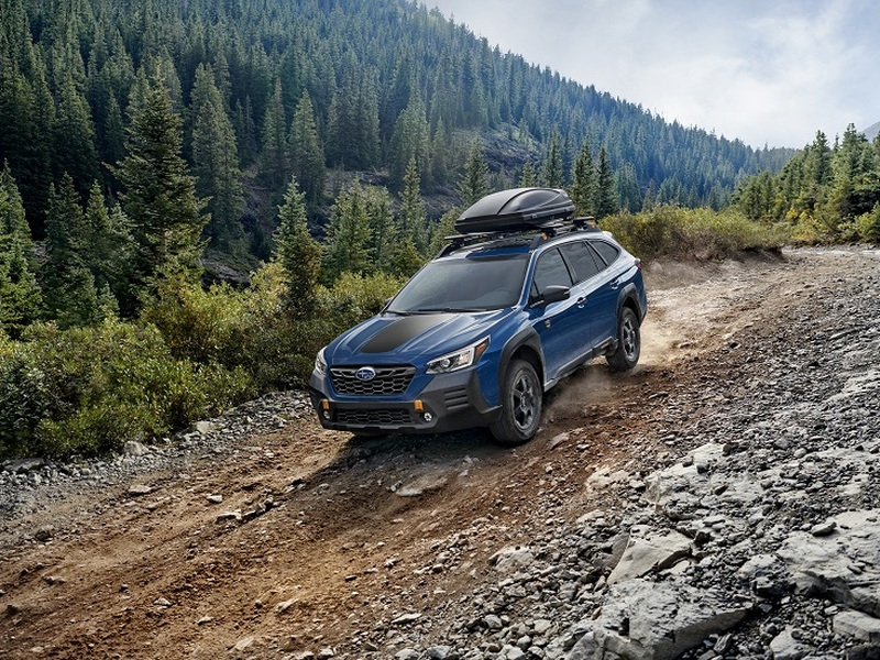 The new Outback Wilderness goes where no Subie has gone before. (images: Subaru)