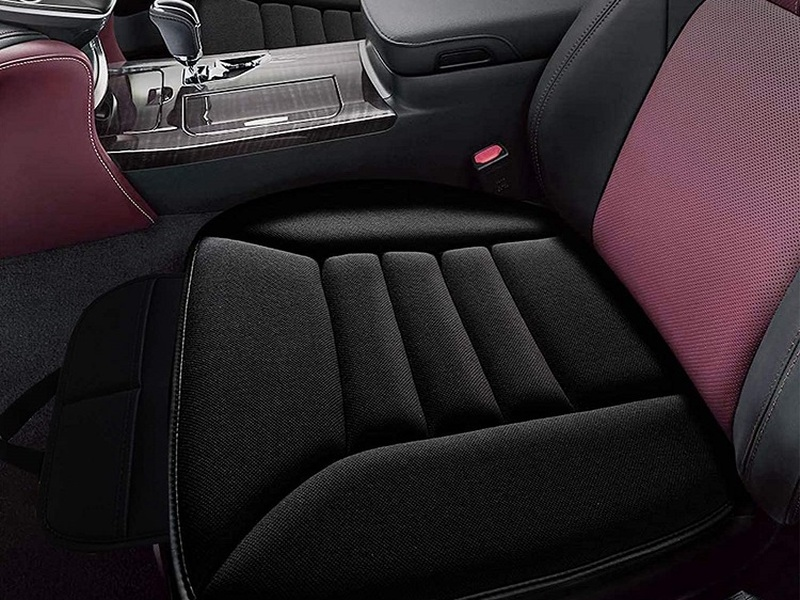 These memory foam car seat cushions will leave a lasting impression.