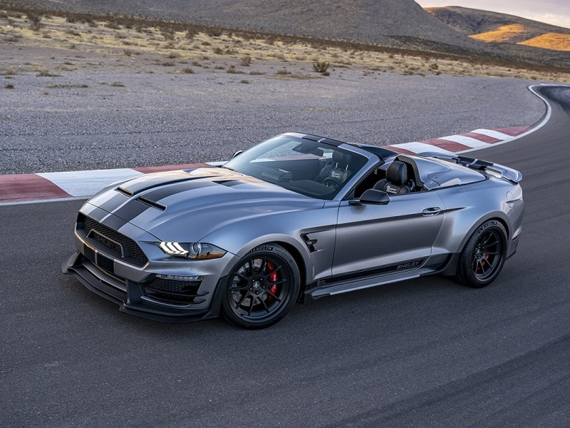 The Super Snake Speedster would make Caroll Shelby proud. (images: Shelby American)
