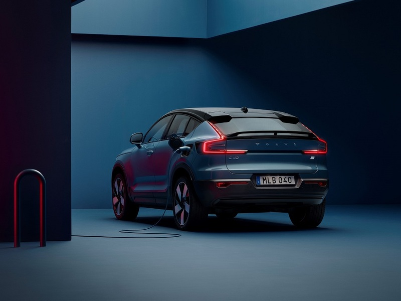 The C40 Recharge spearheads Volvo's transformation. (image: Volvo)