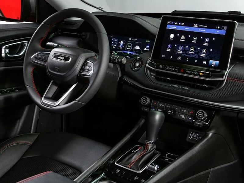 Finally, the Compass gets better interior duds.