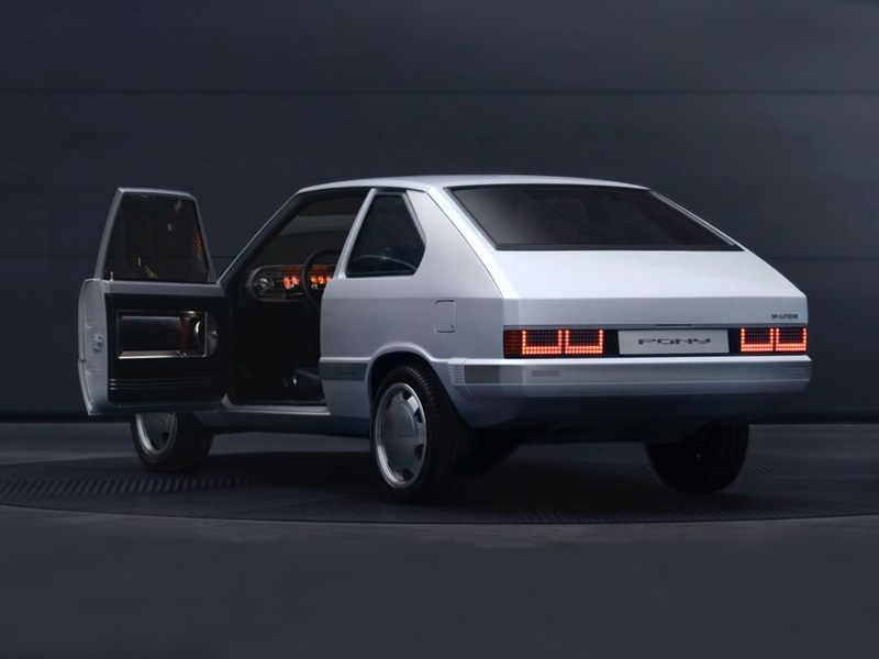 47 years later, the Hyundai Pony gets the modern treatment.