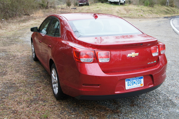2013 Chevrolet Malibu Turbo Review | Web2Carz