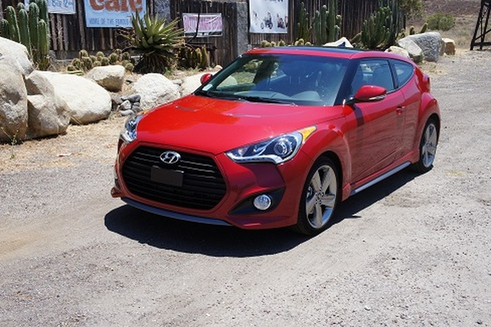 2013 Hyundai Veloster Turbo Review