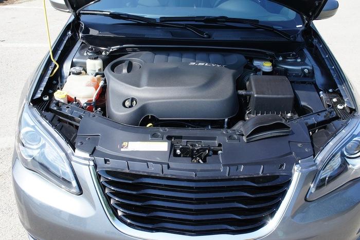 Chrysler S Engine X on 2012 Chrysler 200 Convertible