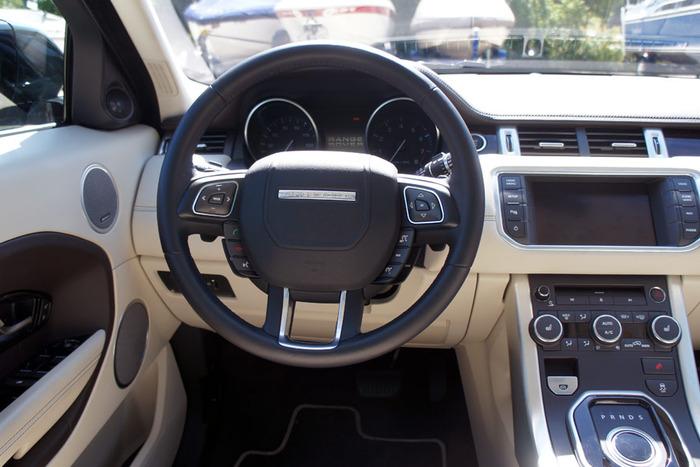 2012 range rover evoque review web2carz - 2012 range rover interior pictures ...