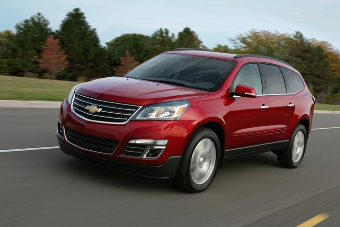 2013 Chevrolet Traverse Review