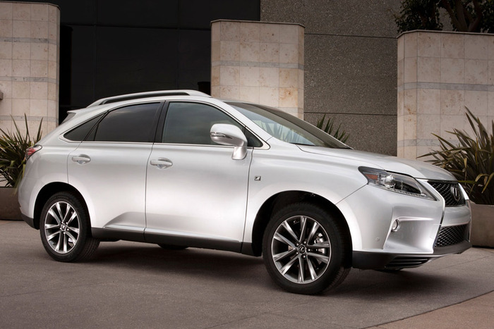 2013 lexus rx 350 f sport review web2carz. Black Bedroom Furniture Sets. Home Design Ideas