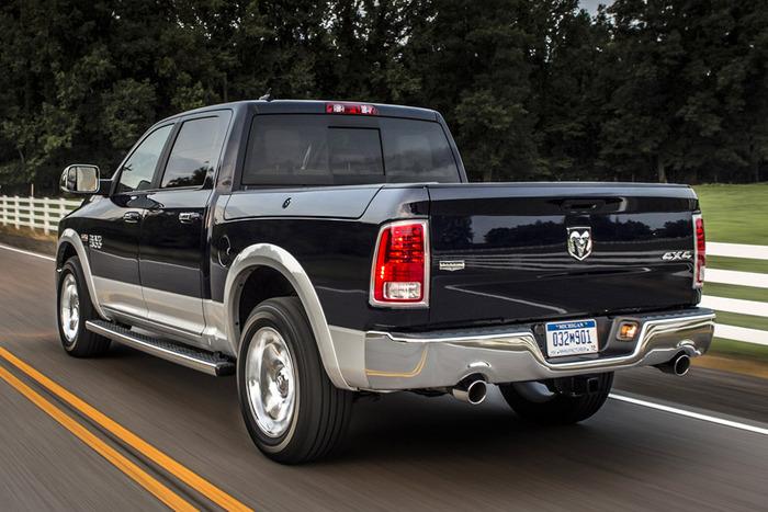 Ram Rear X on Dodge 1500 Truck