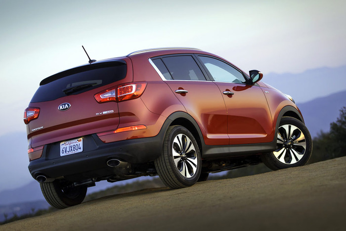 2013 Kia Sportage SX AWD Review