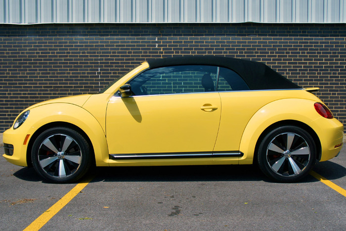 The 2013 Turbo Beetle Drops its Top