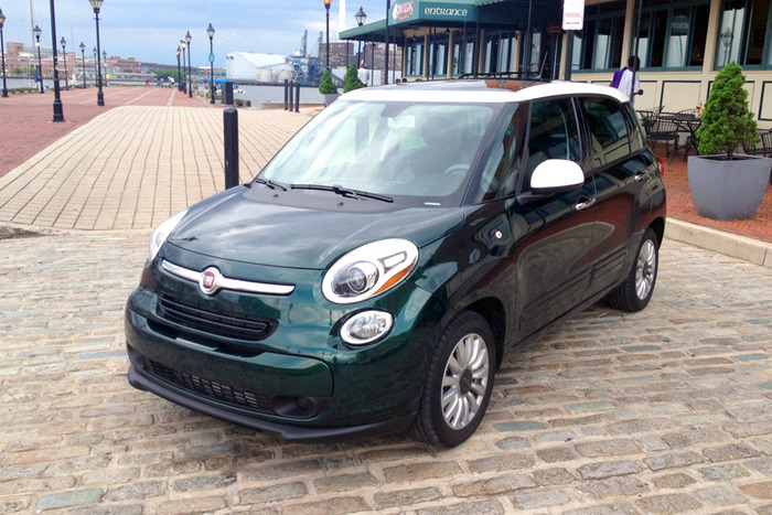 2014 Fiat 500L Lounge Review