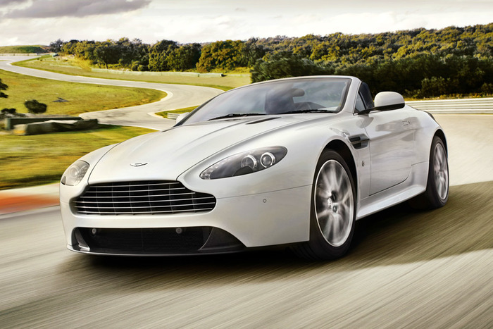 2013 Aston Martin V-8 Vantage S Convertible Review