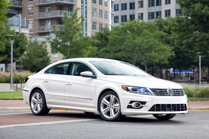 2014 volkswagen cc r line review web2carz. Black Bedroom Furniture Sets. Home Design Ideas