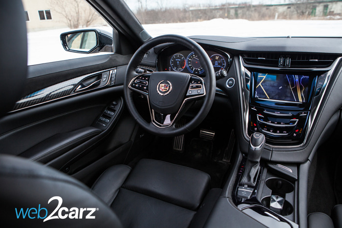 2014 Cadillac CTS 2.0T Review | Web2Carz