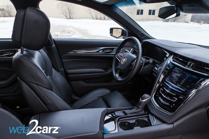 Cadillac Cts L Turbo Performance Interior Side X