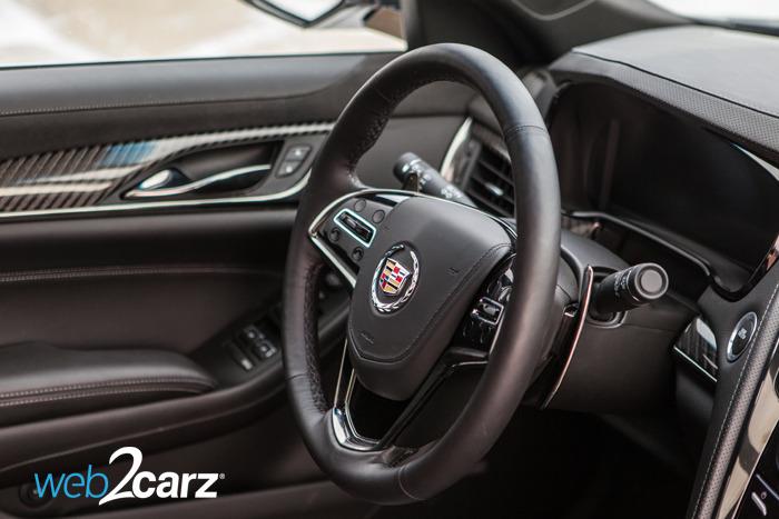 Cadillac Cts L Turbo Performance Steering Wheel X