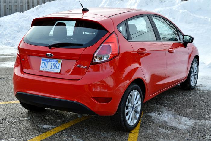 2014 Ford Fiesta Se Hatchback Review Web2carz