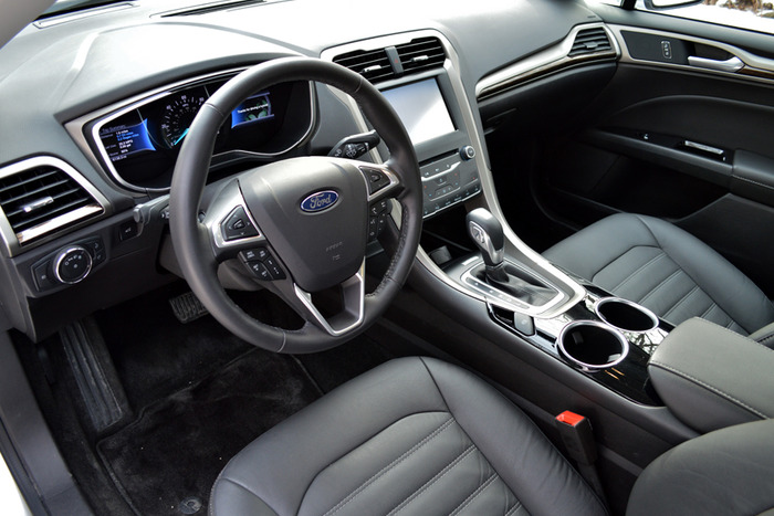 2014 Ford Fusion Hybrid Review Web2carz