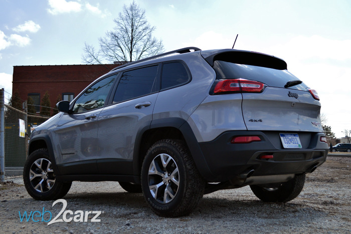 2014 jeep cherokee trailhawk review web2carz. Black Bedroom Furniture Sets. Home Design Ideas