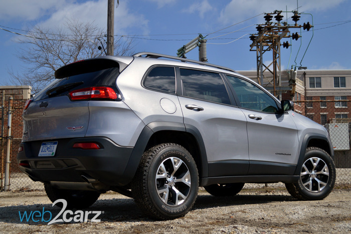 2014 Jeep Cherokee Trailhawk Review | Web2Carz