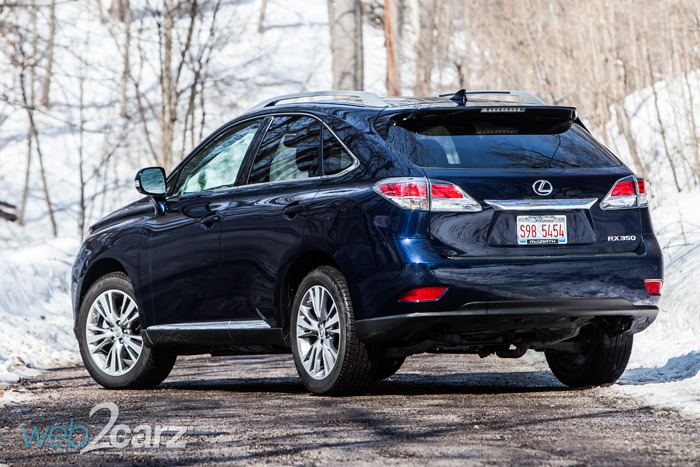 2014 Lexus RX 350 AWD Review