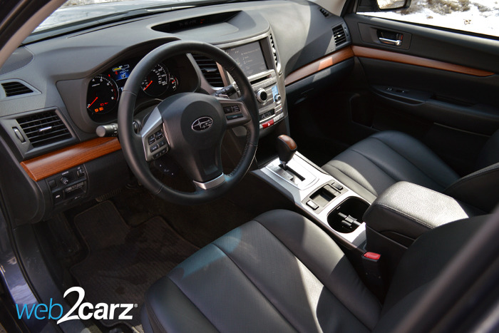 2014 Subaru 3 6r Limited Review Web2carz