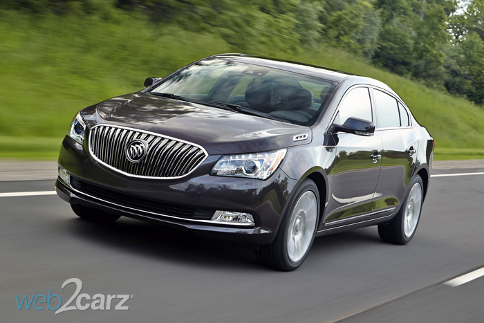 FIRST DRIVE: 2014 Buick LaCrosse