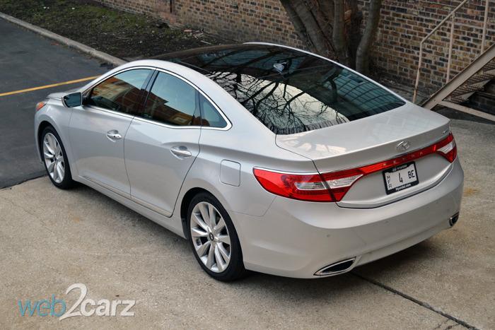 2014 Hyundai Azera Limited Review | Web2Carz