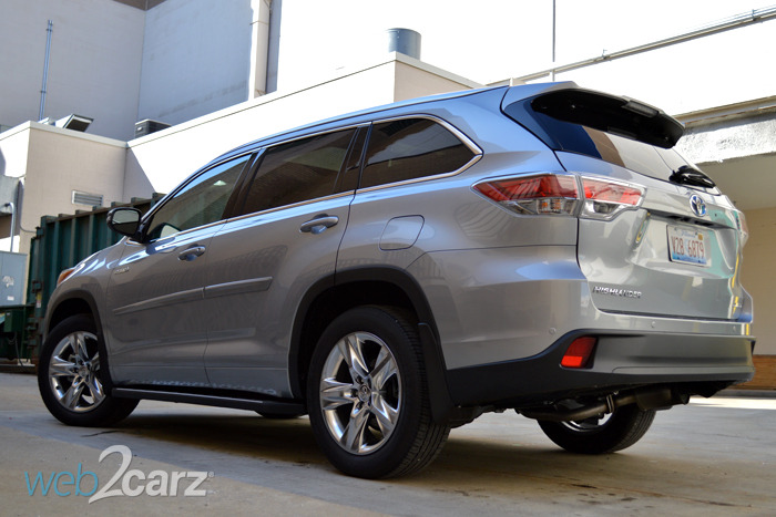 2014 Toyota Highlander Hybrid Review Web2carz