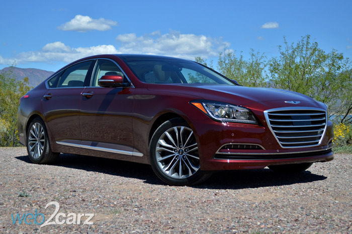 2015 Hyundai Genesis AWD 3.8 Review