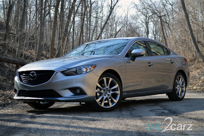 2015 mazda6 grand touring review web2carz. Black Bedroom Furniture Sets. Home Design Ideas