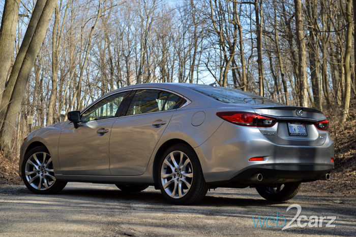 2015 Mazda6 Grand Touring Review | Web2Carz