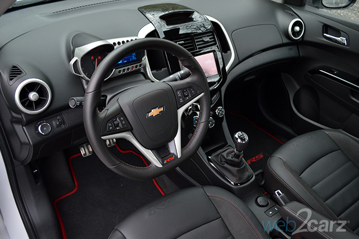 2014 Chevrolet Sonic RS Review Web2Carz