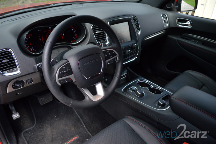 2014 Dodge Durango Rt Interior Images Galleries With A Bite
