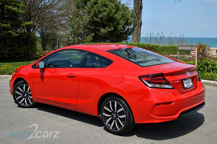 2014 honda civic ex l review web2carz for Honda civic ex 2014