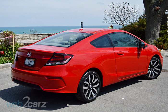 2014 honda civic ex l review web2carz
