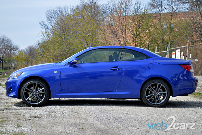 2014 Lexus IS 250 C Review