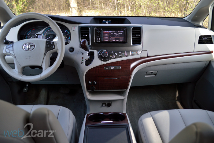 2014 Toyota Sienna Review Web2carz