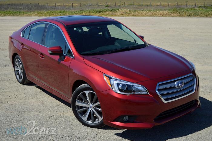 FIRST DRIVE: 2015 Subaru Legacy | Web2Carz