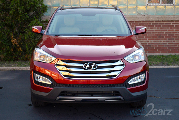 2014 Hyundai Santa Fe Sport Review | Web2Carz