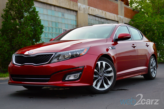 2014 kia optima sx turbo review web2carz. Black Bedroom Furniture Sets. Home Design Ideas